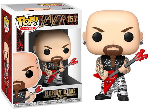 Funko Slayer POP! Rocks Kerry King Vinyl Figure #157