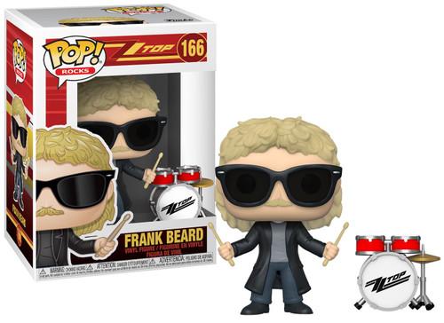 Funko ZZ Top POP! Rocks Frank Beard Vinyl Figure #166