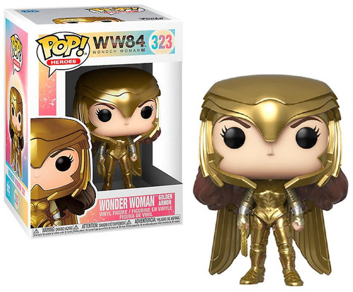 Funko DC Wonder Woman 1984 POP! Movies Wonder Woman Gold Power Vinyl Figure [Metallic]