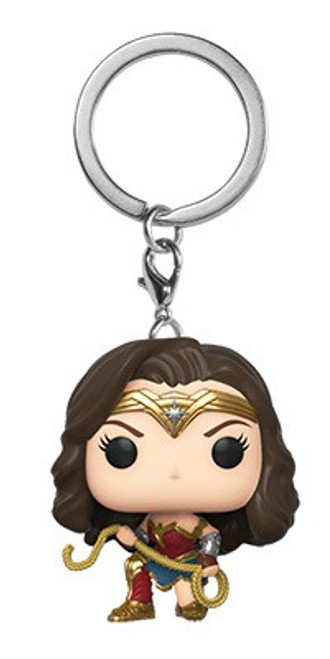 Funko DC Wonder Woman 1984 Movie POP! Heroes Wonder Woman with Lasso Keychain