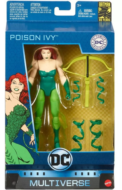 DC Multiverse Batman 80 Years Series Poison Ivy Action Figure