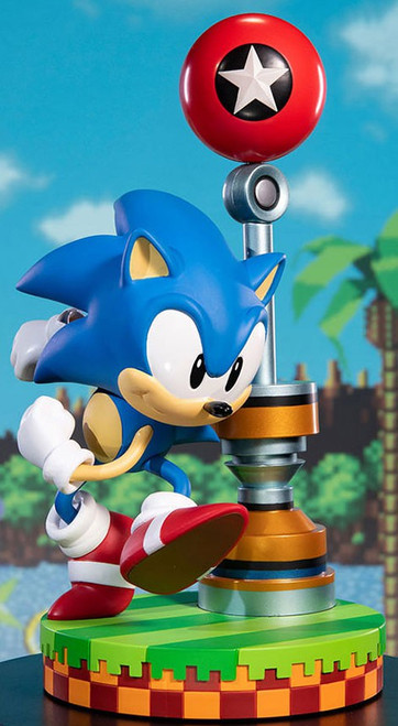 Sonic The Hedgehog Sonic 11-Inch Statue [Green Hill Zone]