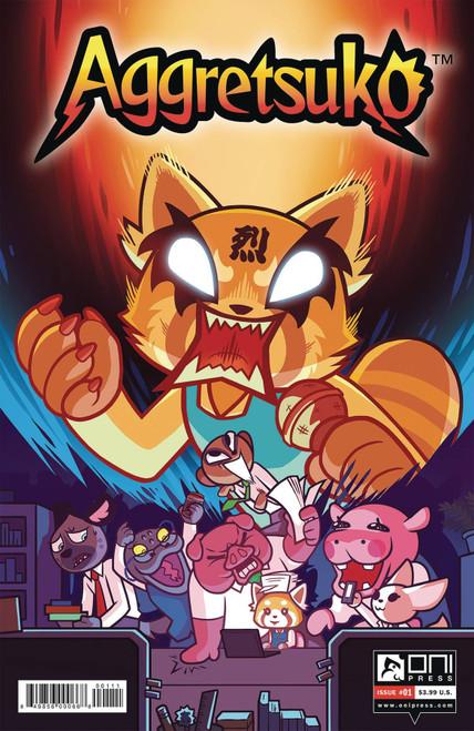 Oni Press Aggretsuko #1 Comic Book [CJ Cannon Cover A]