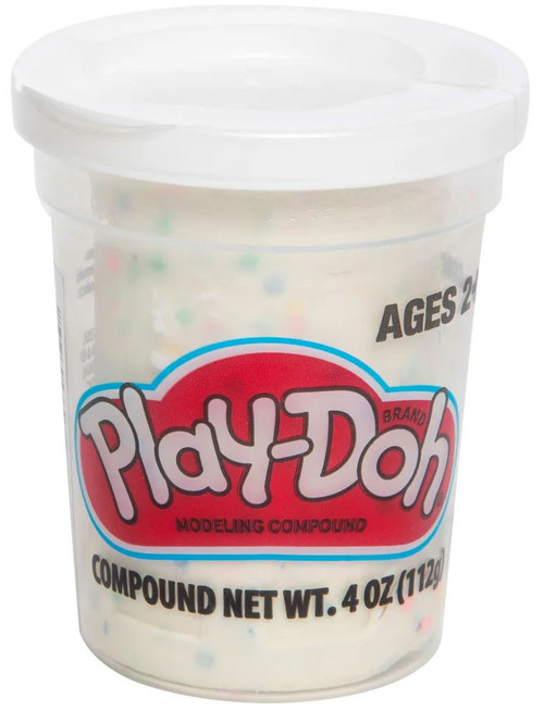 Play-Doh Confetti White 4 Ounce