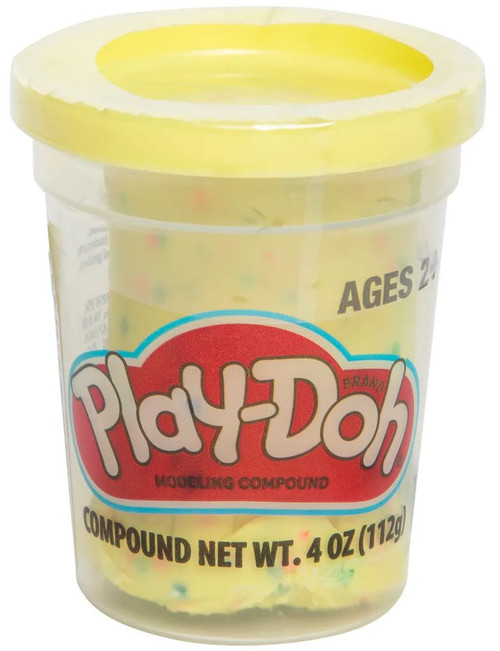 Play-Doh Confetti Yellow 4 Ounce