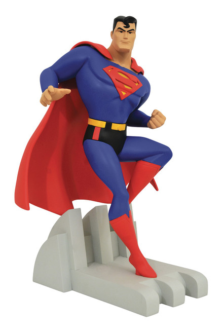 DC Justice League Animated Premiere Collection Superman 12-Inch Statue