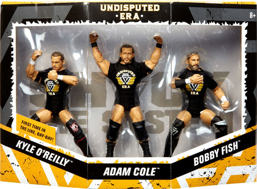 WWE Wrestling Elite Collection NXT Kyle O'Reilly, Adam Cole & Bobby Fish Action Figure 3-Pack [Undisputed Era]