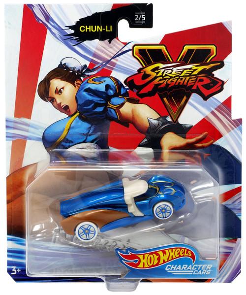 Hot Wheels Street Fighter V Chun-Li Diecast Car #2/5