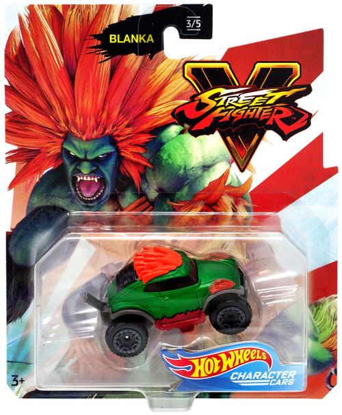 Hot Wheels Street Fighter V Character Cars Blanka Diecast Car #3/5