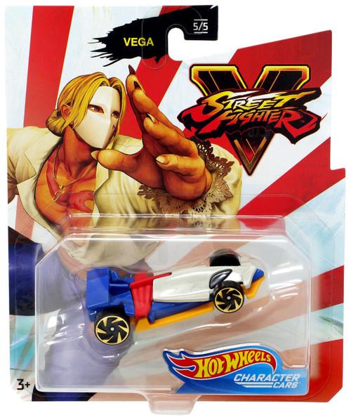Hot Wheels Street Fighter V Character Cars Vega Diecast Car #5/5