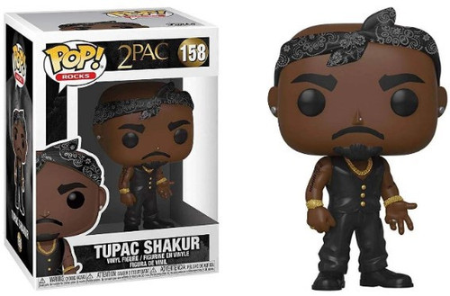 Funko POP! Rocks Tupac Shakur Vinyl Figure #158 [Vest with Bandana]