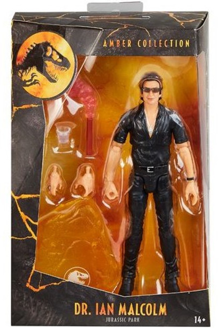 Jurassic World Amber Collection Ian Malcolm Action Figure