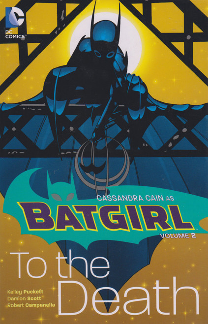 DC Batgirl To The Death Trade Paperback Comic Book #2