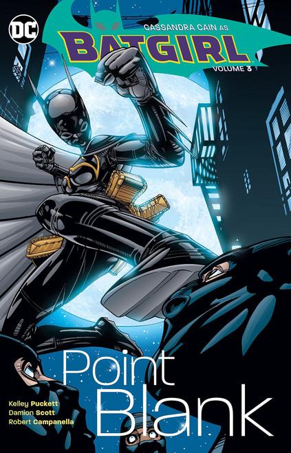 DC Batgirl Point Blank Trade Paperback Comic Book #3