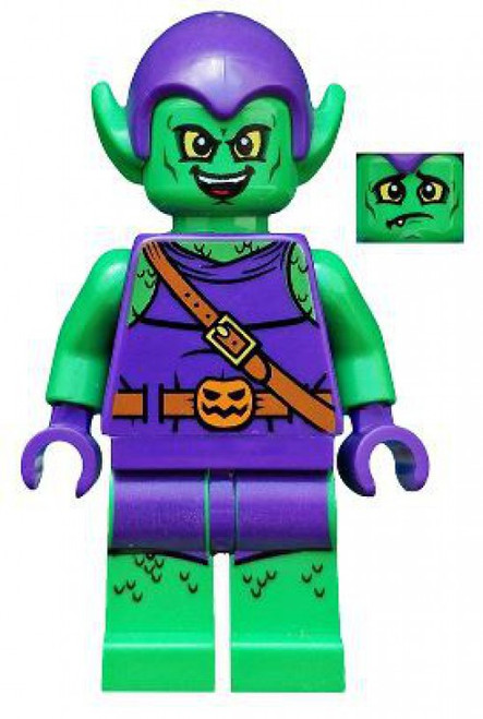 LEGO Spider-Man Green Goblin Minifigure [2019 Loose]