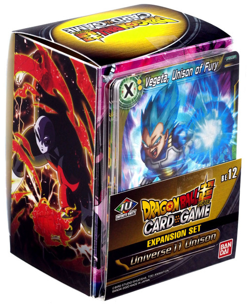 Dragon Ball Super Collectible Card Game Universe 11 Unison Vegeta, Unison of Fury Expansion Set [12]
