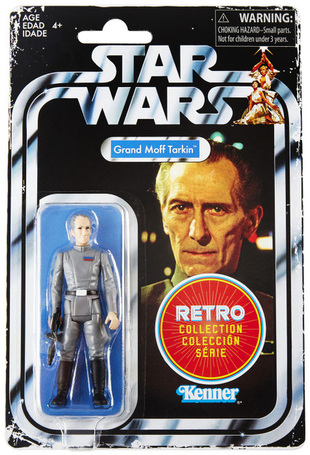 Star Wars Retro Collection Grand Moff Tarkin Exclusive Action Figure