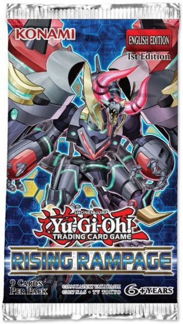 YuGiOh Trading Card Game Rising Rampage Booster Pack [9 Cards]