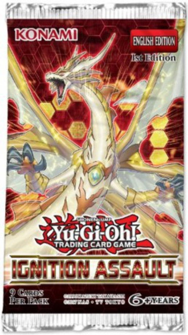 YuGiOh Trading Card Game Ignition Assault Booster Pack [9 Cards]