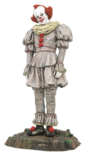 IT Chapter 2 IT Gallery Pennywise 10-Inch Collectible PVC Statue [Swamp]