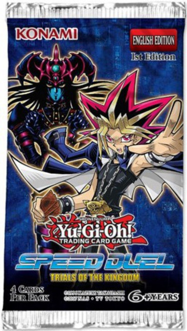 YuGiOh Trading Card Game Speed Duel Trials of the Kingdom Booster Pack