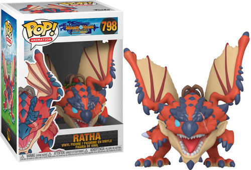 Funko Monster Hunter POP! Animation Ratha Vinyl Figure