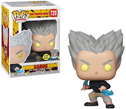 Funko One Punch Man POP! Anime Garou Flowing Water Exclusive Vinyl Figure [Glow-in-the-Dark]