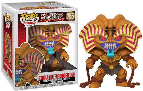 Funko YuGiOh POP! Animation Exodia 6-Inch Vinyl Figure [Super-Sized] (Pre-Order ships January)