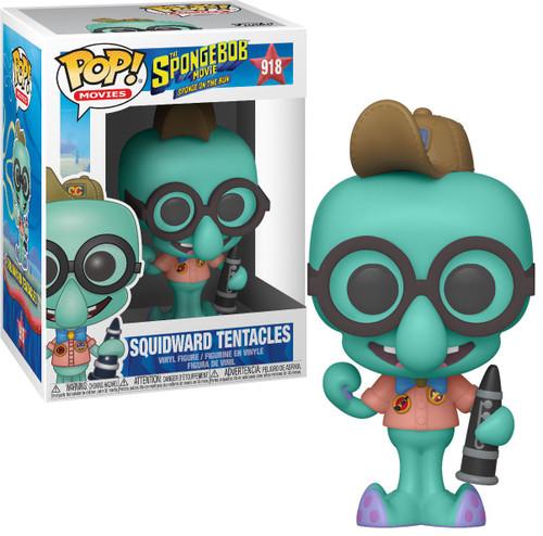 Funko Spongebob Squarepants Sponge on the Run Movie POP! Animation Squidward Tentacles Vinyl Figure #918 [in Camping Gear]