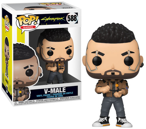 Funko Cyberpunk 2077 Pop! Games V-Male Vinyl Figure