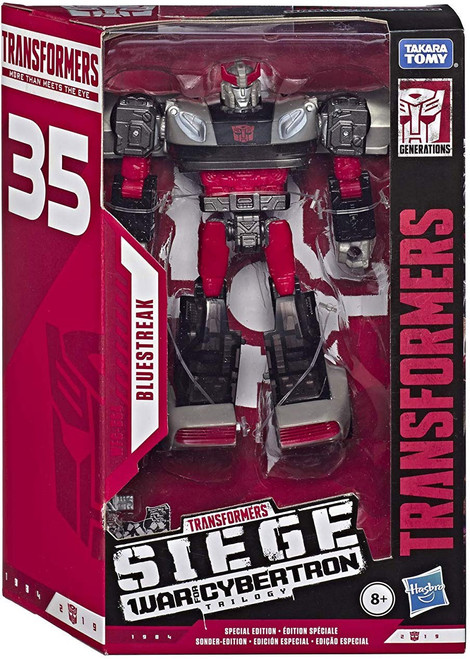 Transformers Generations War for Cybertron: Siege Bluestreak Exclusive Voyager Action Figure WFC-S64
