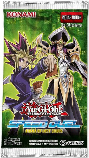 YuGiOh Trading Card Game Speed Duel Arena of Lost Souls Booster Pack