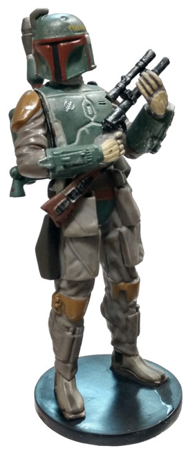 Disney Star Wars Boba Fett 4-Inch PVC Figure [Loose]