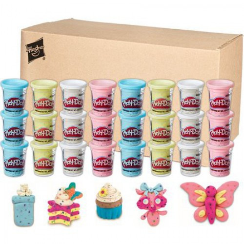 Confetti Play-Doh 4 Ounce Case of 24 Cans