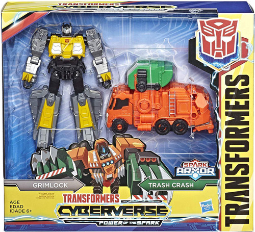 Transformers Cyberverse Power of the Spark Spark Armor Grimlock Elite Class Action Figure