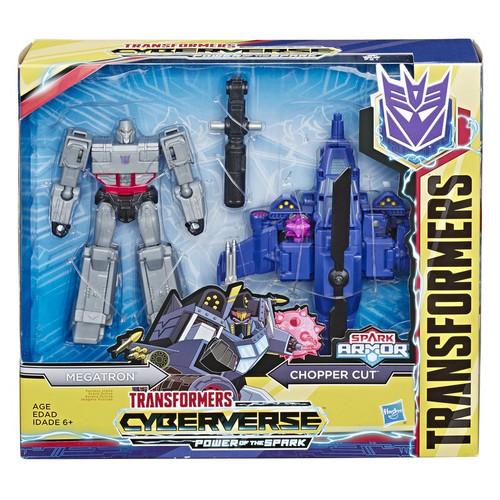 Transformers Cyberverse Power of the Spark Spark Armor Megatron Elite Class Action Figure [Chopper Cut]