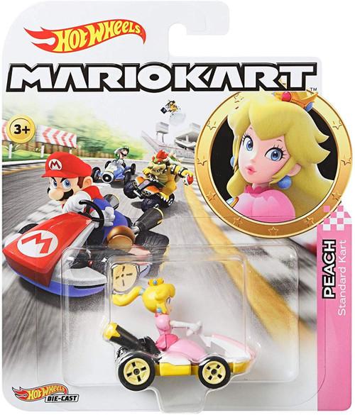 Hot Wheels Mario Kart Peach Diecast Car [Standard Kart]