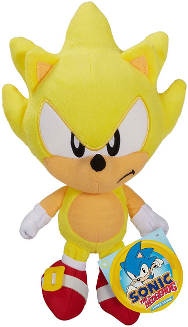 Sonic The Hedgehog Super Sonic 7-Inch Plush [2020 Version]