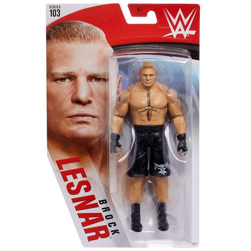 WWE Wrestling Series 103 Brock Lesnar Action Figure