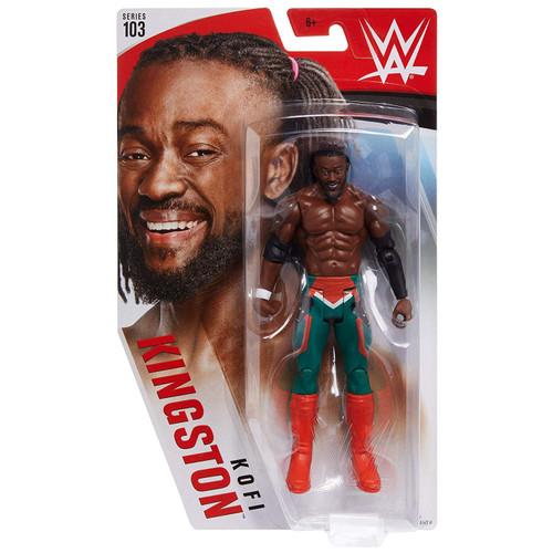 WWE Wrestling Series 103 Kofi Kingston Action Figure