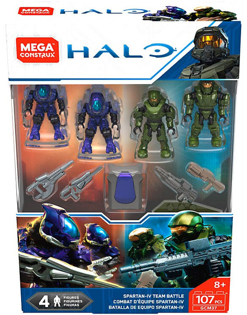 Halo Spartan-IV Team Battle Set
