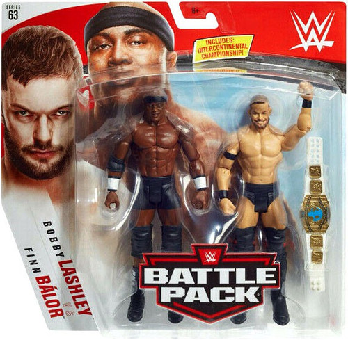 WWE Wrestling Battle Pack Series 63 Finn Balor & Bobby Lashley Action Figure 2-Pack
