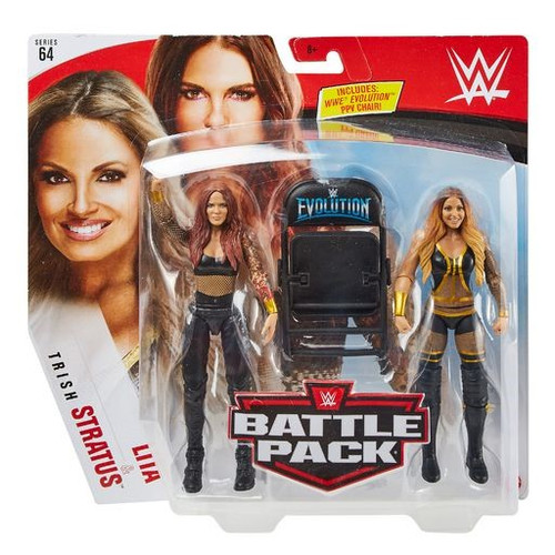 WWE Wrestling Battle Pack Series 64 Lita & Trish Stratus Action Figure 2-Pack