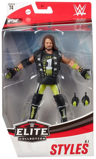 WWE Wrestling Elite Collection Series 74 AJ Styles Action Figure