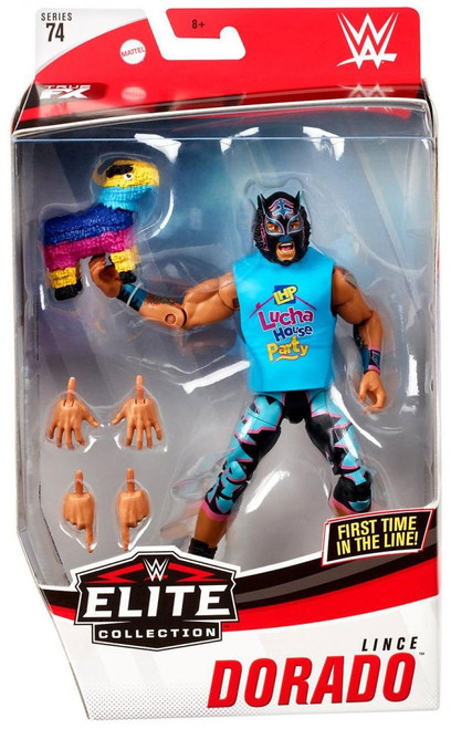 WWE Wrestling Elite Collection Series 74 Lince Dorado Action Figure [Black Mask & Tights]
