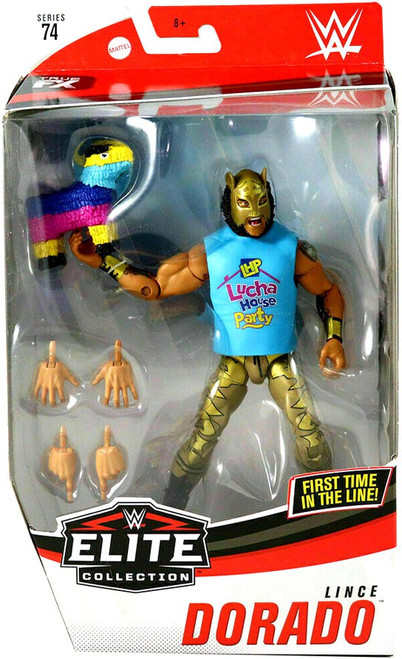 WWE Wrestling Elite Collection Series 74 Lince Dorado Action Figure [Gold Mask & Tights]