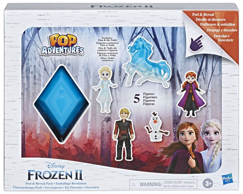 Disney Frozen 2 Pop Adventures Peel & Reveal 2.25-Inch Playset