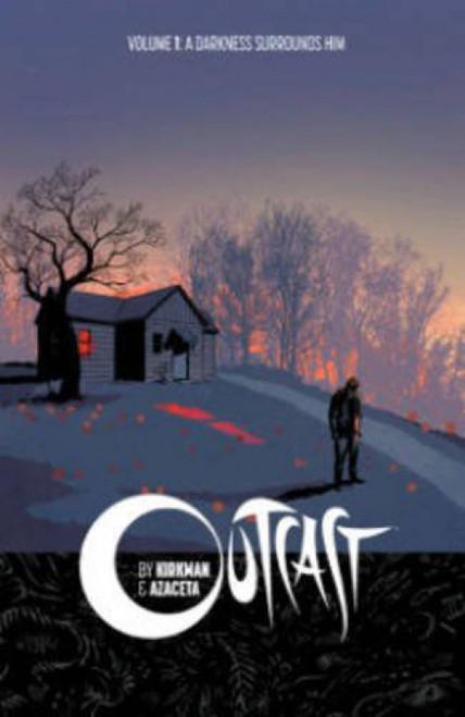 Image Comics Outcast Volume 1: A Darkness Surrounds Him Trade Paperback Comic Book
