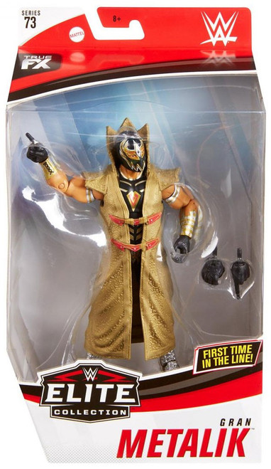 WWE Wrestling Elite Collection Series 73 Gran Metalik Action Figure [Black Outfit Variant]