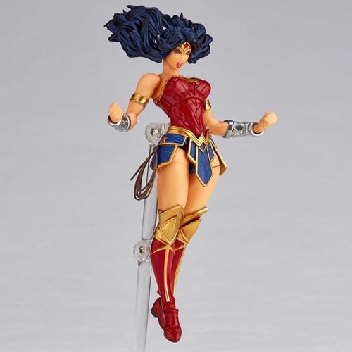 DC Amazing Yamaguchi Revoltech Wonder Woman Action Figure #017